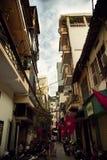 улицы hanoi Стоковая Фотография