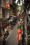 улицы hanoi Стоковые Изображения RF