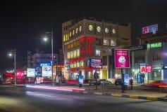 Улицы Hurghada, Египет стоковое изображение