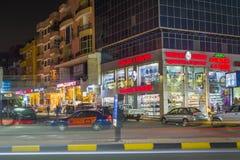 Улицы Hurghada, Египет стоковая фотография