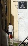 улицы lisbon Стоковая Фотография RF