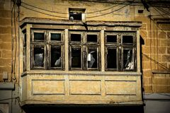 улицы malta Стоковое Изображение RF