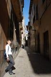 улицы palma de mallorca Стоковые Фото