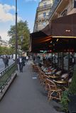 улицы paris montmartre стоковая фотография