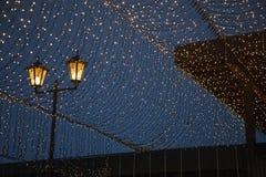 Уличные светы - фонарик Стоковая Фотография
