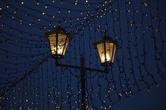 Уличные светы - фонарик Стоковое Изображение RF
