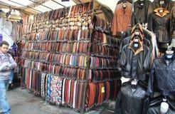 Уличный рынок в Флоренсе стоковое фото rf