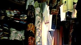 Уличный рынок старого Иерусалима видеоматериал