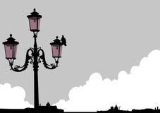 уличный свет venice Стоковое Фото
