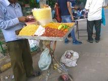 Уличный торговец стоковые фотографии rf