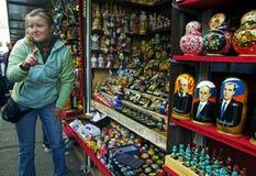 уличный торговец Стоковая Фотография RF
