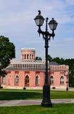 Уличный фонарь в парке Tsaritsino Стоковые Фото
