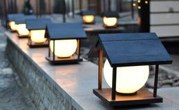 Уличный фонарь, освещая Стоковые Фотографии RF