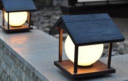 Уличный фонарь, освещая Стоковая Фотография RF