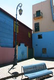 уличный фонарь стенда Стоковое Изображение