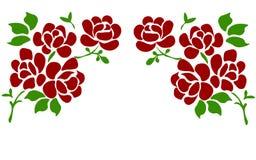 Красивая роза изолированная на белизне Улучшите для поздравительных открыток предпосылки и приглашений свадьбы, дня рождения, Вал иллюстрация штока