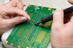 ультразвук технологии прибора развития Стоковое Изображение RF
