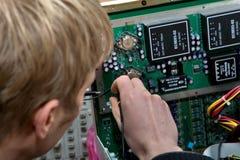 ультразвук технологии прибора развития Стоковые Изображения RF