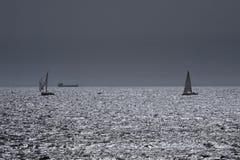 Ультракрасное сверкая море Стоковая Фотография