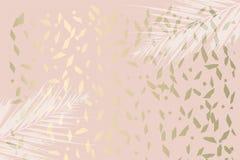 Ультрамодная мята листвы осени покрасила золото краснеет предпосылка иллюстрация штока