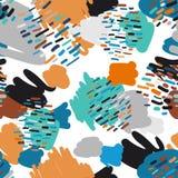 Ультрамодная пастель scribbles картина Аннотация бесплатная иллюстрация