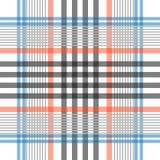 Ультрамодная простая checkred печать иллюстрация штока