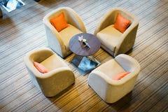 ультрамодное кафа нутряное Стоковая Фотография
