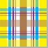 ультрамодное шотландки картины безшовное Стоковая Фотография