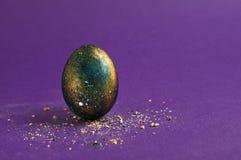 Ультрафиолетовый луч пасхального яйца галактики космический Стоковое Изображение