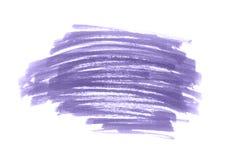 Ультрафиолетов изолированный ход щетки с текстурой стоковое изображение