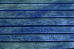 Ультра голубая текстура планки деревянной скамьи для вебсайта или мобильных устройств, элемента дизайна Стоковая Фотография