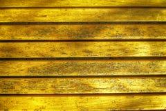 Ультра желтая текстура планки деревянной скамьи для вебсайта или мобильных устройств, элемента дизайна Стоковое Изображение