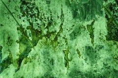 Ультра зеленая текстура олова, стальная поверхность стены или металлическая алюминиевая предпосылка Стоковые Изображения RF