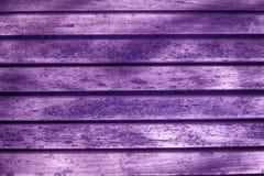 Ультра фиолетовая текстура планки деревянной скамьи для вебсайта или мобильных устройств, элемента дизайна Стоковое Изображение RF