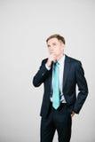 думать серии финансов бизнесмена дела Стоковая Фотография RF