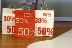 Уменьшенное цена Стоковое фото RF
