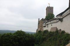 Умирает замок Wartburg, Германия Стоковое Изображение RF