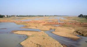 Умирая река Стоковые Изображения