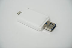Умная память external телефона стоковое изображение