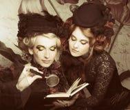 Умные дамы стоковая фотография rf
