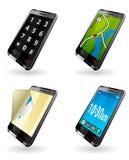 Умные иконы телефона Стоковое фото RF