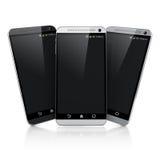 умные телефоны 3d иллюстрация штока