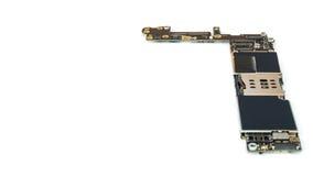 Умный изолят монтажной платы телефона, космос экземпляра Стоковые Фотографии RF
