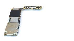 Умный изолят монтажной платы телефона, космос экземпляра Стоковое Изображение RF