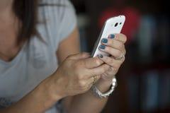 Умный телефон Стоковое Изображение RF