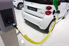 Умный электрический привод автомобиля Стоковые Изображения RF