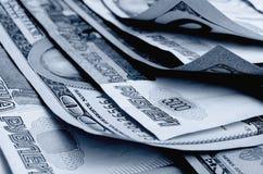Умозрение валюты доллар рубля Стоковое Изображение