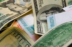 умозрение urrency  Рубль-доллара Ñ Стоковое Изображение RF