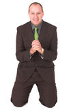 умоляя бизнесмен 3 Стоковое фото RF