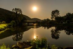 луна моста сверх Стоковые Изображения RF